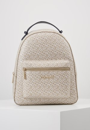 ICONIC BACKPACK MONOGRAM - Ryggsekk - beige