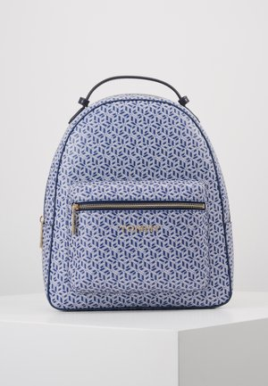 ICONIC BACKPACK MONOGRAM - Rucksack - blue