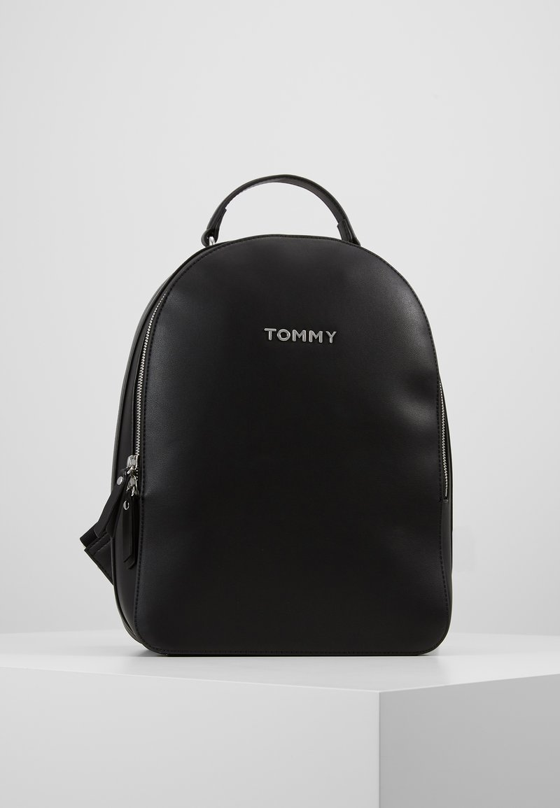 Tommy Hilfiger - STAPLE DOME BACKPACK - Rucksack - black