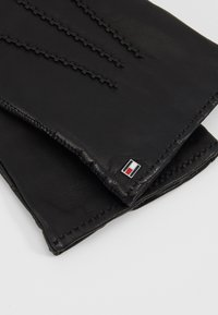 Tommy Hilfiger - FLAG GLOVES - Gloves - black - 3