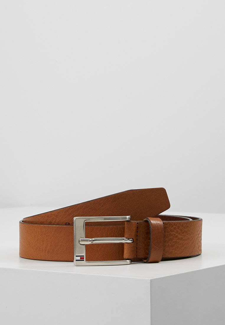 Tommy Hilfiger - NEW ALY BELT - Belt business - dark tan
