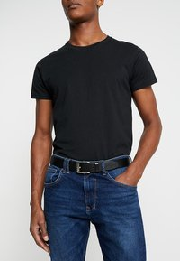 Tommy Hilfiger - NEW ALY BELT - Bælter - black