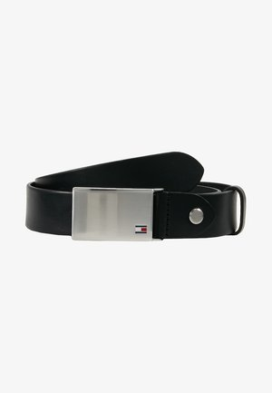 PLAQUE BELT - Gürtel business - black