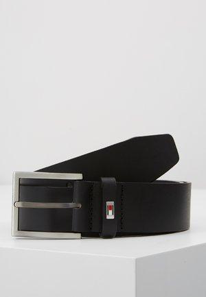 HAMPTON BELT - Pásek - black