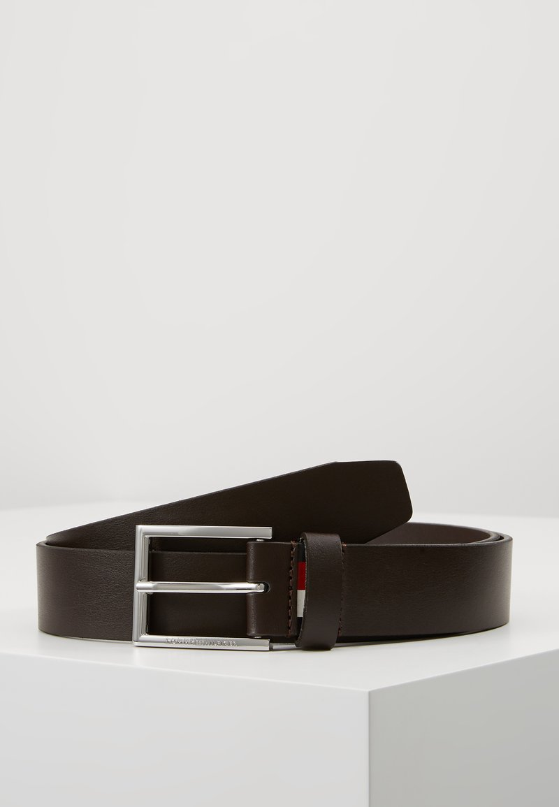 Tommy Hilfiger - FORMAL BELT  - Gürtel business - brown