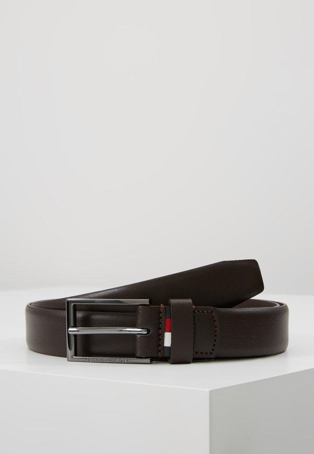 FORMAL BELT  - Cinturón - brown