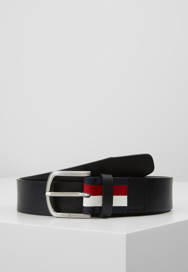 Tommy Hilfiger - CRESCENT BELT - Pásek - black