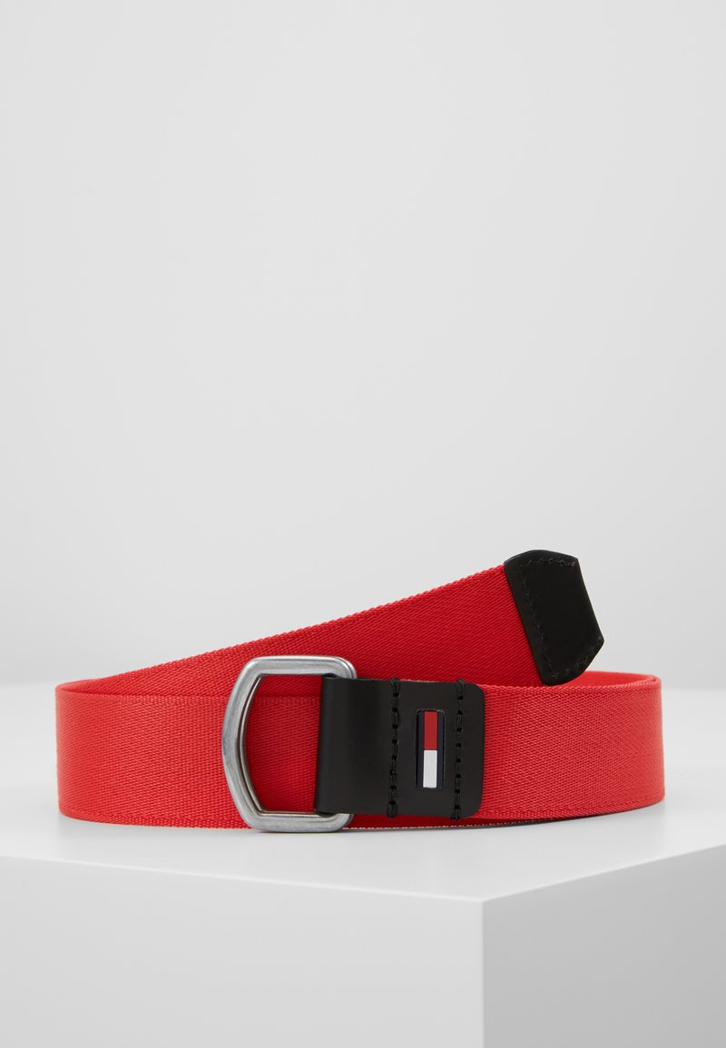 Tommy Jeans - DRING WEBBING - Pasek - red