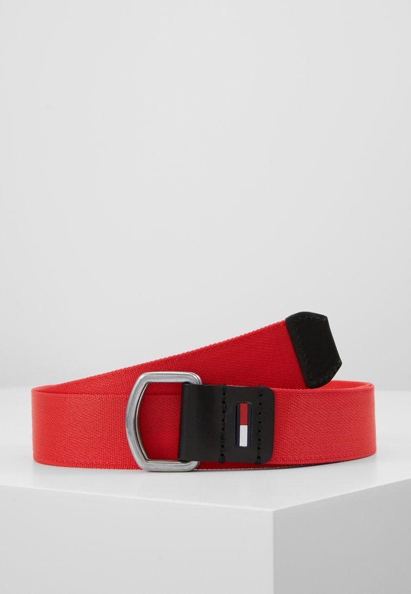 Tommy Jeans - DRING WEBBING - Belt - red