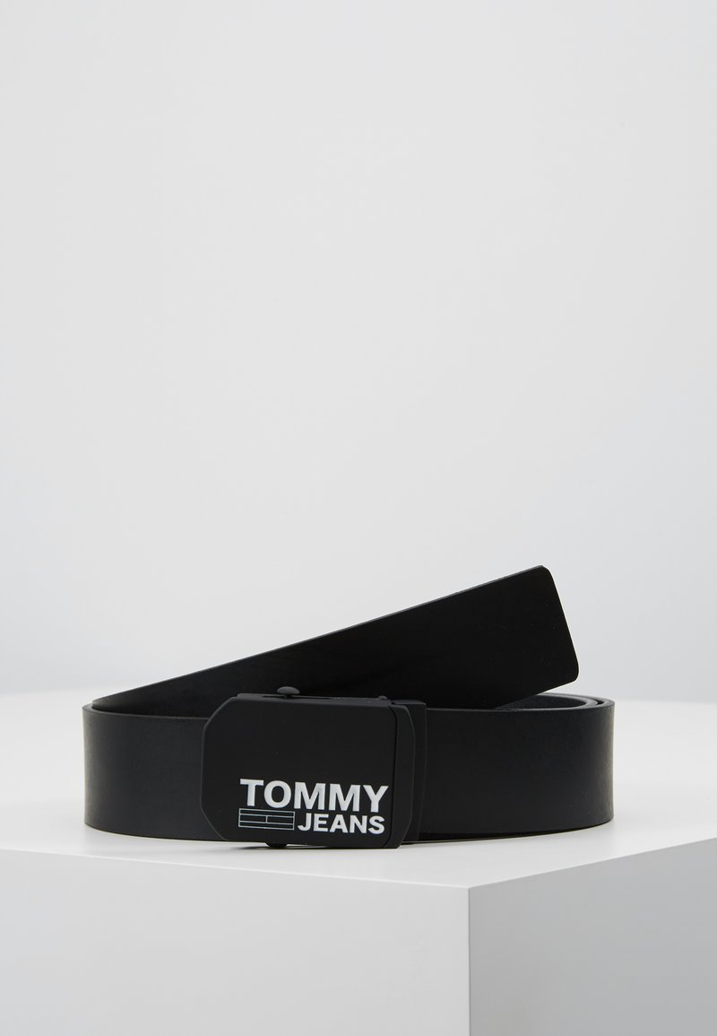 Tommy Jeans - PLAQUE BELT  - Belt - black