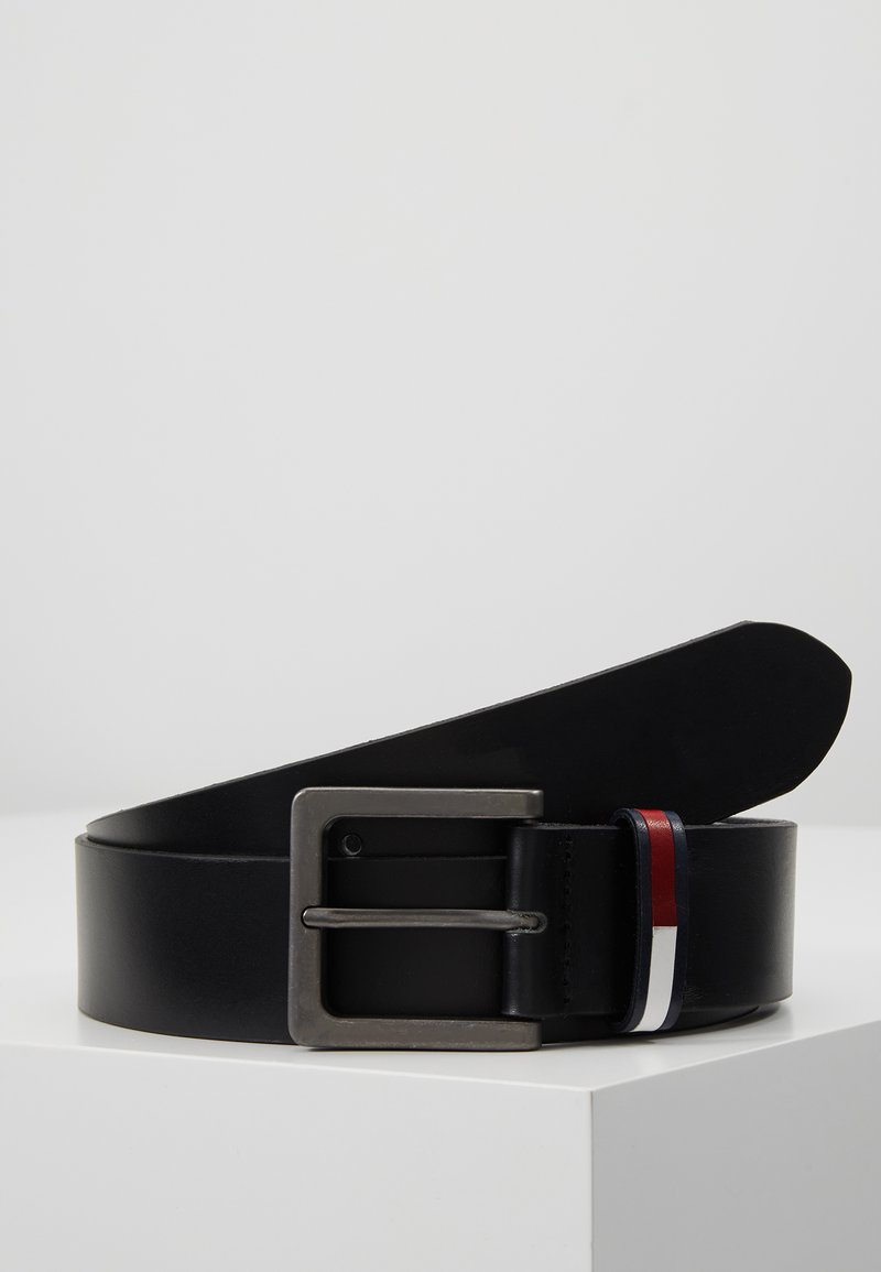 Tommy Jeans - FLAG INLAY BELT - Gürtel - black