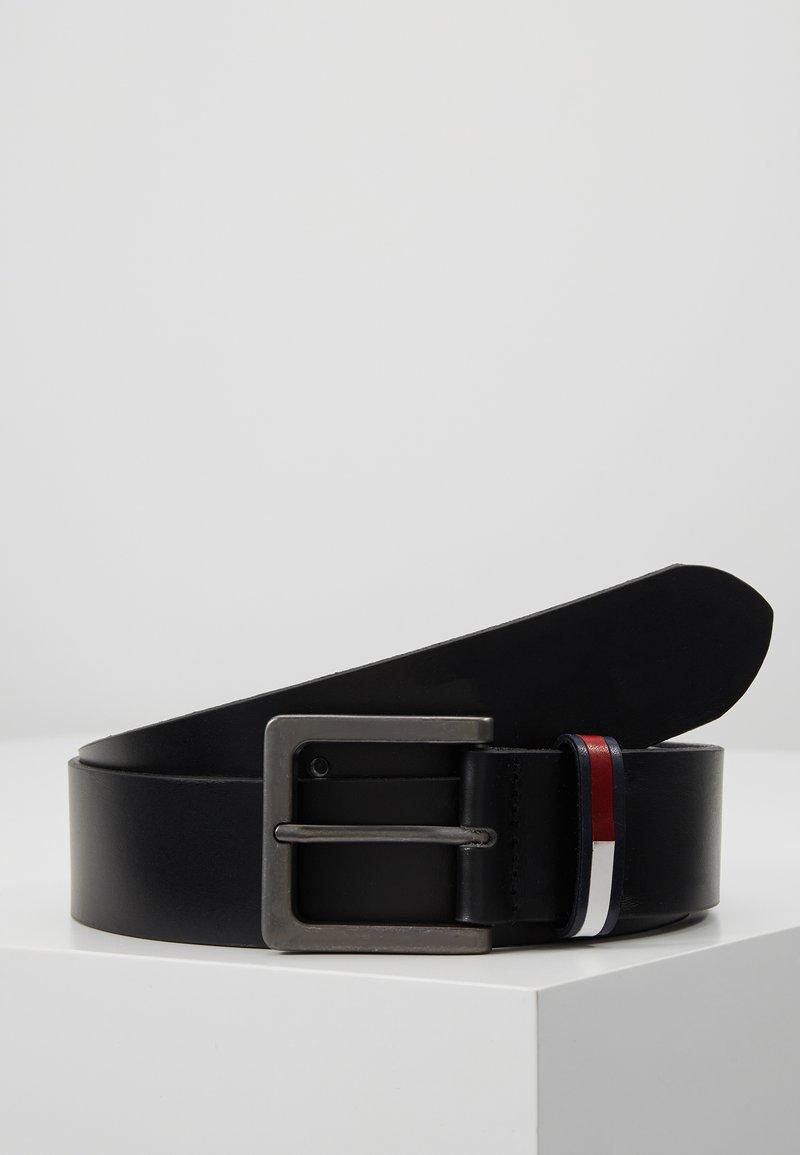 Tommy Jeans - FLAG INLAY BELT - Belt - black