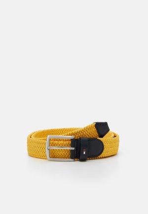 DENTON  - Flechtgürtel - yellow