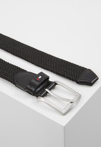 Tommy Hilfiger - DENTON  - Braided belt - black - 2