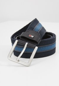 Tommy Hilfiger - URBAN DENTON WEBBING ELASTIC - Belt - blue - 4
