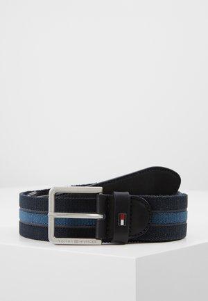 URBAN DENTON WEBBING ELASTIC - Belt - blue