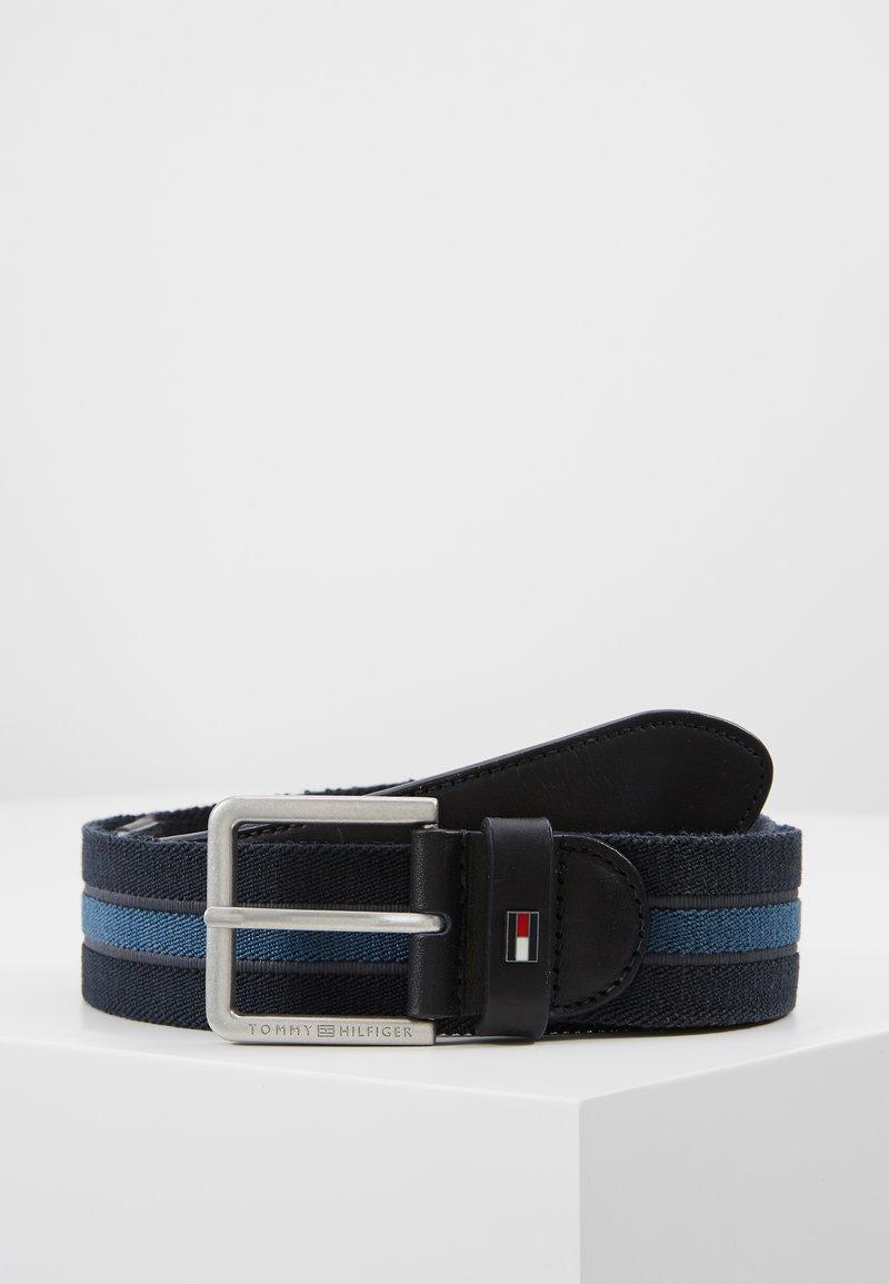 Tommy Hilfiger - URBAN DENTON WEBBING ELASTIC - Belt - blue