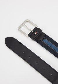 Tommy Hilfiger - URBAN DENTON WEBBING ELASTIC - Belt - blue - 2