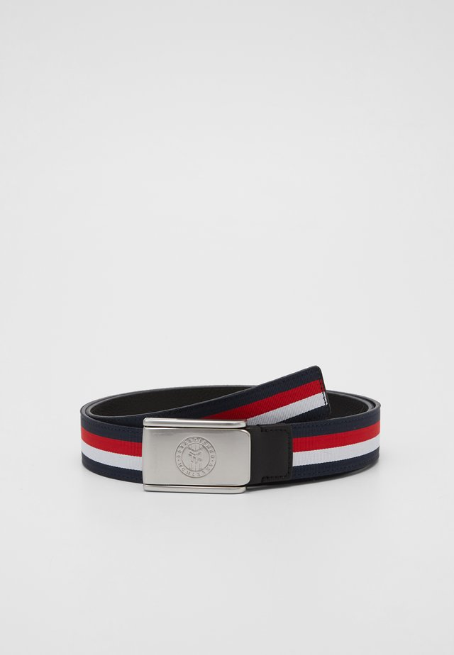 URBAN PLAQUE - Belt - blue