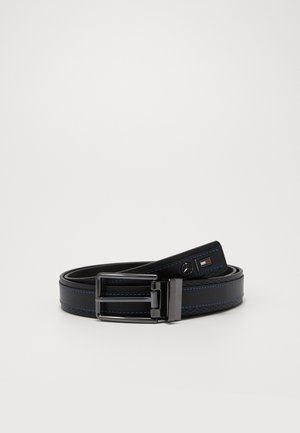 TOMMYXMERCEDES-BENZ REVERSIBLE BELT - Pásek - black