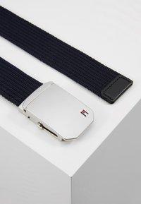 Tommy Hilfiger - SLIDER BUCKLE - Belt - blue - 3