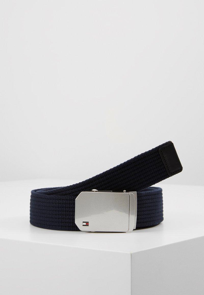 Tommy Hilfiger - SLIDER BUCKLE - Belt - blue