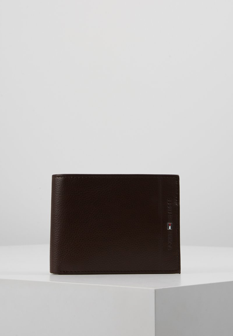Tommy Hilfiger - CORE AND COIN POCKET - Wallet - dark brown