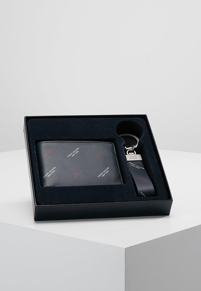 Tommy Hilfiger - DIAGONAL PRINT BOX SET - Sleutelhanger - blue