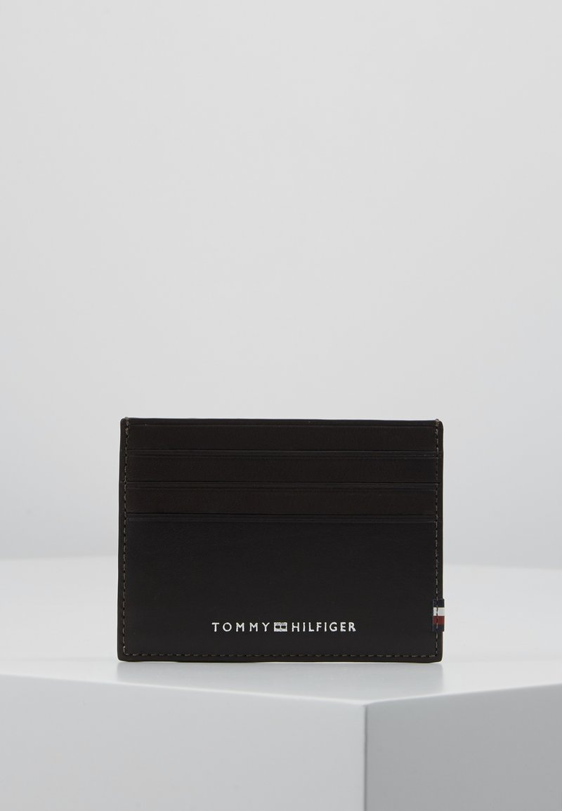 Tommy Hilfiger - TEXTURED HOLDER - Business card holder - brown