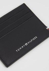 Tommy Hilfiger - TEXTURED HOLDER - Etui na wizytówki - black - 2