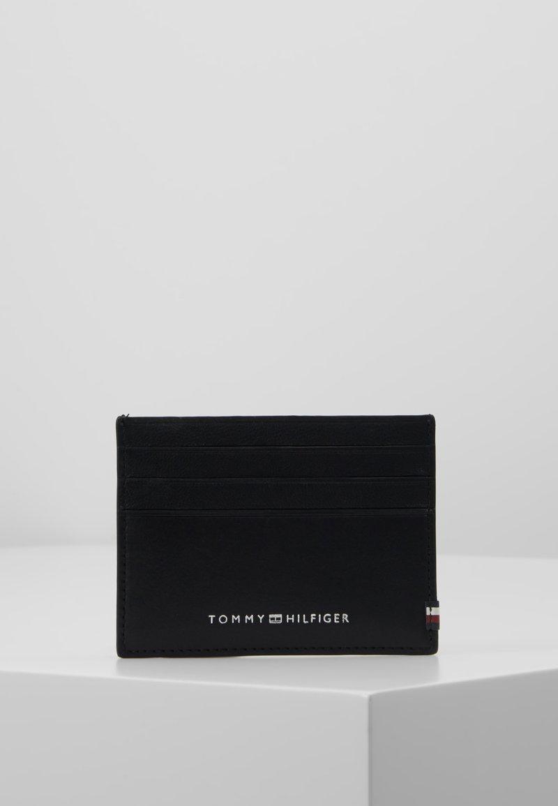 Tommy Hilfiger - TEXTURED HOLDER - Etui na wizytówki - black