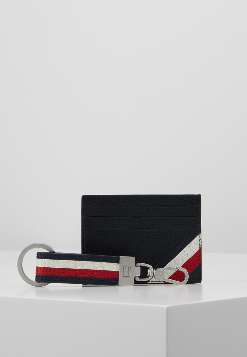 Tommy Hilfiger - DOWNTOWN HOLDER & KEY SET - Keyring - black