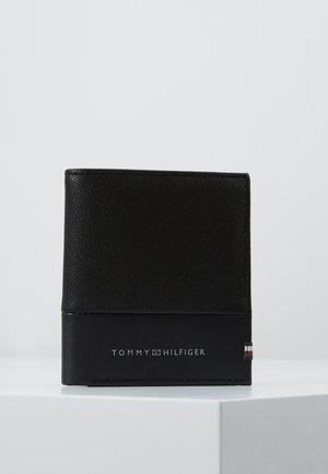 TEXTURED TRIFOLD - Portfel - black