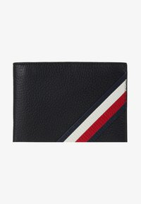 Tommy Hilfiger - DOWNTOWN FLAP AND COIN - Wallet - black - 1