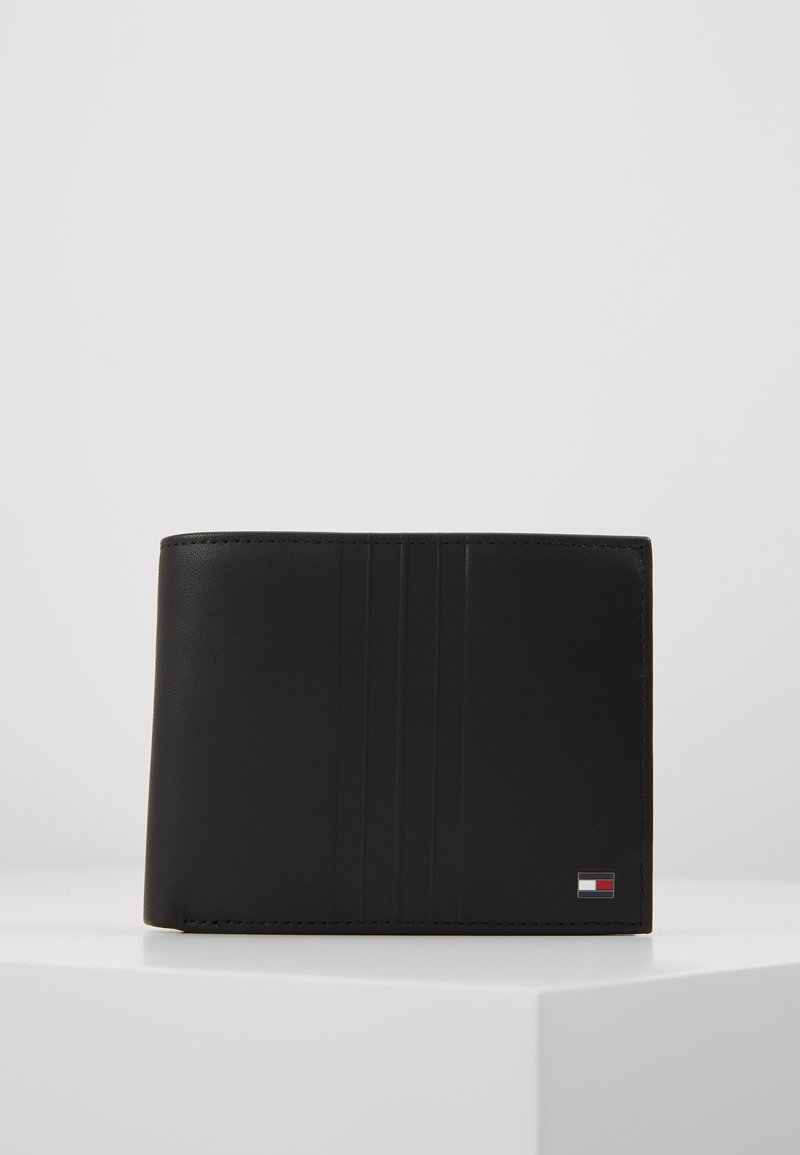 Tommy Hilfiger - FLAP AND COIN - Portemonnee - black