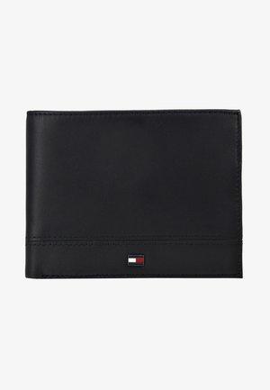 ESSENTIAL FLAP AND COIN - Portfel - black
