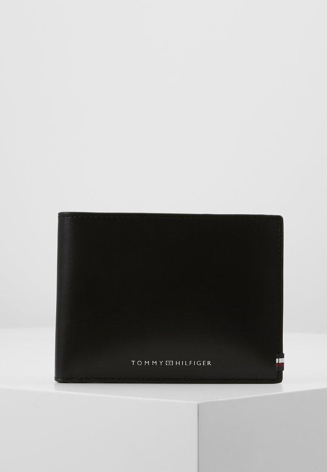 POLISHED EXTRA COIN - Plånbok - black