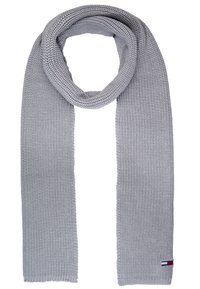 Tommy Jeans - BASIC SCARF BEANIE SET - Bufanda - grey - 3