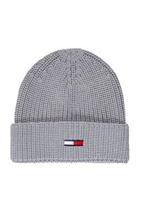 Tommy Jeans - BASIC SCARF BEANIE SET - Bufanda - grey - 2