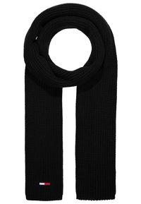 Tommy Jeans - BASIC SCARF BEANIE SET - Bufanda - black - 3