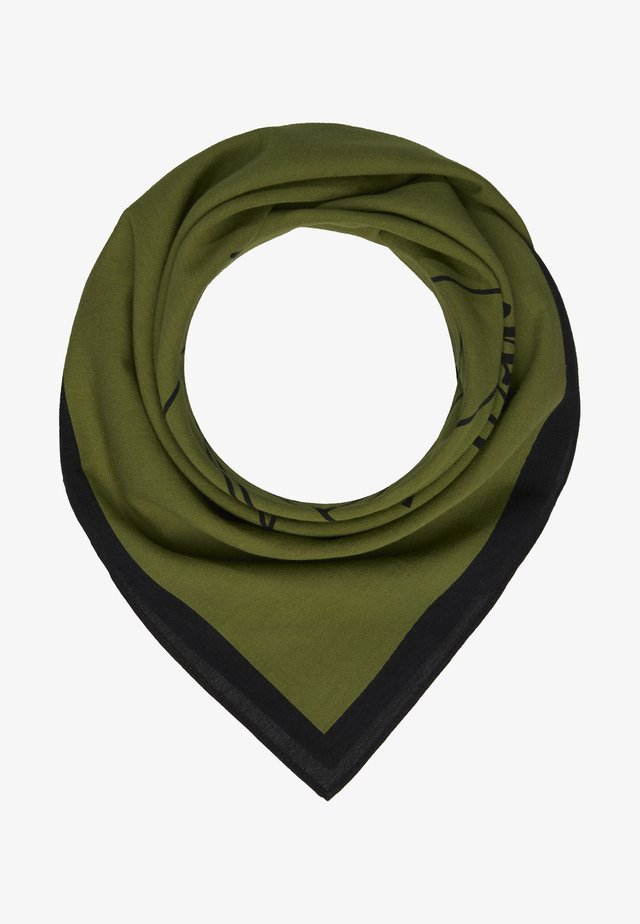 LEWIS HAMILTON BANDANA - Tørklæde / Halstørklæder - green
