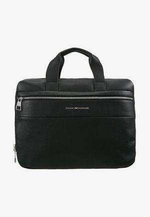 NOVELTY MIX SLIM COMPUTER BAG - Aktovka - black