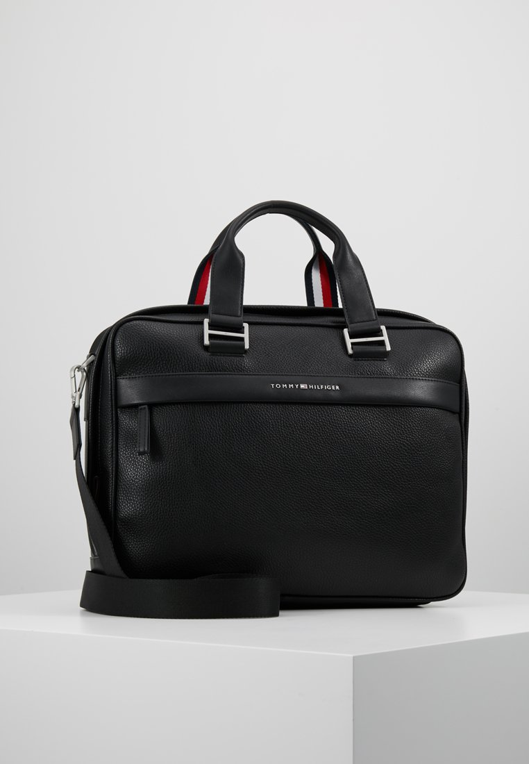Tommy Hilfiger - BUSINESS COMPUTER BAG - Attachetasker - black