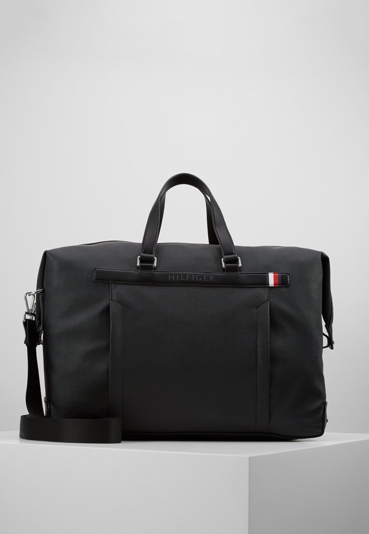 Tommy Hilfiger - COATED DUFFLE - Weekend bag - black