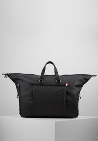 Tommy Hilfiger - COATED DUFFLE - Weekend bag - black - 5
