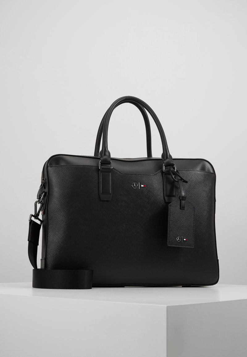 Tommy Hilfiger - TH X MERCEDES-BENZ - Laptop bag - black