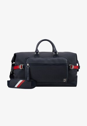 COATED DUFFLE - Weekend bag - blue