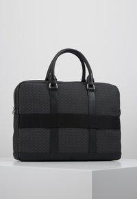 Tommy Hilfiger - COATED COMPUTER BAG - Briefcase - black - 2