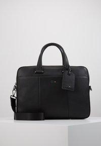 Tommy Hilfiger - TOMMYXMERCEDES-BENZ COMPUTER BAG - Laptop bag - black - 0