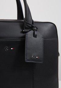 Tommy Hilfiger - TOMMYXMERCEDES-BENZ COMPUTER BAG - Laptop bag - black - 5